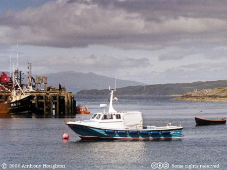Mallaig Harbour,Boats