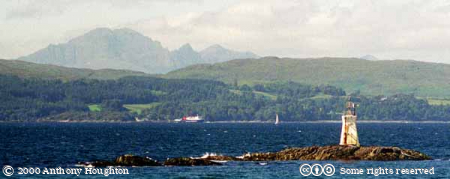 Mallaig,Mountains,Islands,Cuillins,Skye