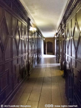 Front Passage,Barrington Court,Stately Home,Historic House,National Trust,Court House