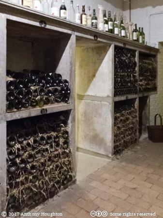 Wine Cellar,Stansted Park