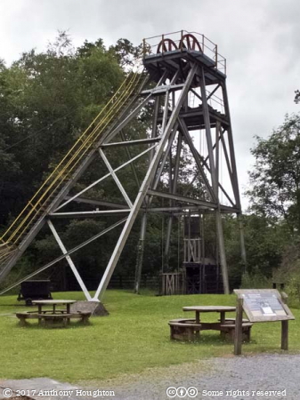 Headframe,Dolaucothi Gold Mine